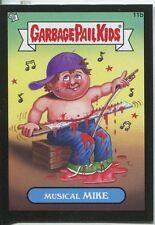Garbage Pail Kids Mini Cards 2013 Black Parallel Base Card 11b Musical MIKE