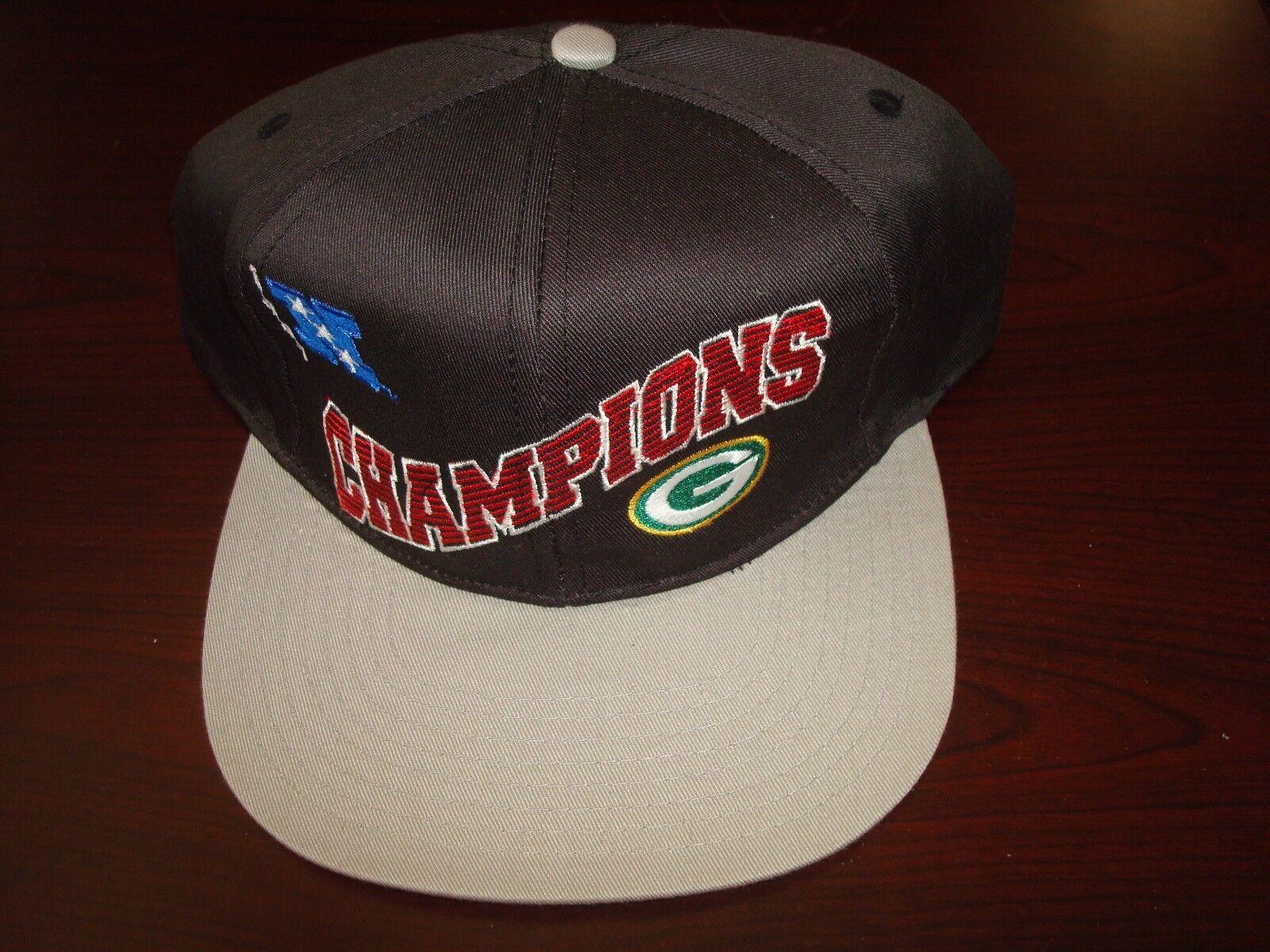 GREEN BAY PACKERS 1997 SCRIPT GAME DAY   SCRIPT 1997 NEW VINTAGE 90'S HAT CAP  SNAPBACK 4cda65