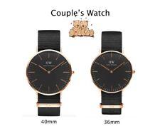 Couple's Watch *Daniel Wellington Black Cornwall DW00100148 DW00100150 #crzycod