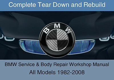 BMW TIS + WDS + ETK / EPC - OEM 1982-2008 Service Workshop Repair Manual DVD