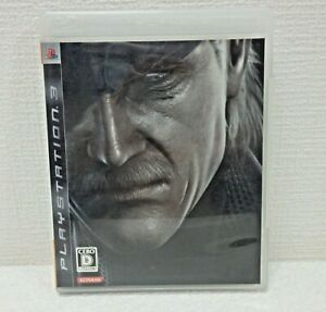METAL GEAR SOLID 4 GUNS OF THE PATRIOTS  Sony PS 3