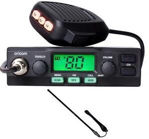 ORICOM-UHF028-5-WATT-80-CHANNEL-UHF-RADIO-CH5T-BLACK-5DB-UHF-ANTENNA-720MM