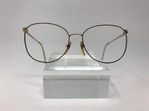 Elizabeth-Arden-Eyeglasses-302-54-16-135-Gold-Italy-9859