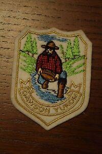 Dawson Yukon Canada Canadian Travel Souvenir Patch Prospector Miner