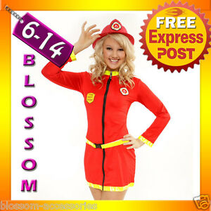 883-Fireman-Fire-Fighter-Uniform-Outfit-Costume-amp-Hat