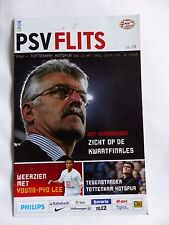 PSV TOTTENHAM 12 MARCH 2008 UEFA CUP OFFICIAL MATCH PROGRAMME