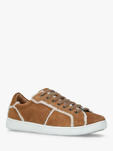 9d47a996d39 Details about Ugg Milo Spill Seam Sneaker Chestnut Suede Sneaker/Lace Up  Trainers UK 5