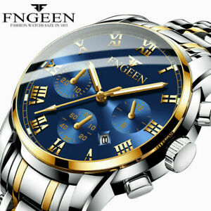 Luxury-Men-Fashion-Stainless-Steel-Military-Army-Analog-Sport-Quartz-Wrist-Watch