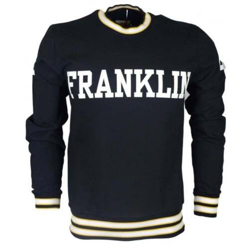 shirt logo noir avec Franklin imprim Sweat PwYvqxY
