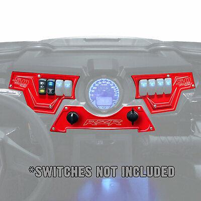 Blue UTV RZR XP1000 LE Polaris Perormance Part Only XP1000 3 piece Dash Panel