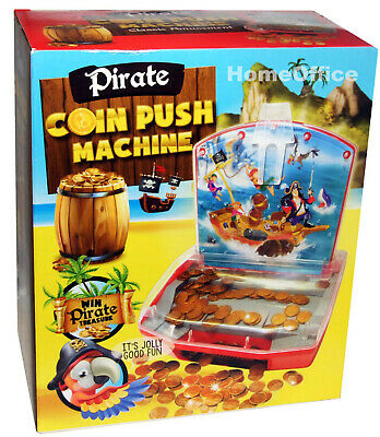 Pirate Coin Push Machine Become Rich Like A Pirate Hours Of Fun For Kids