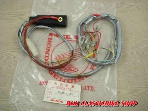 P//N 32100-003-000  Japan Genuine Honda C102 CA102 CD105 HARNESS WIRE  NOS