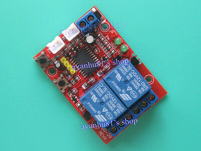 DC 12V 2-Way Self-locking / Latching Relay Touch Bistable Switch Module 2CH