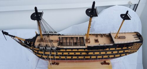 laser cut wooden deck for model Heller HMS Victory 1:100