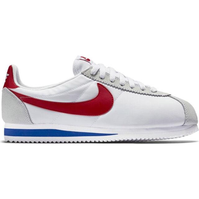 Size 7.5 - Nike Classic Cortez Nylon White
