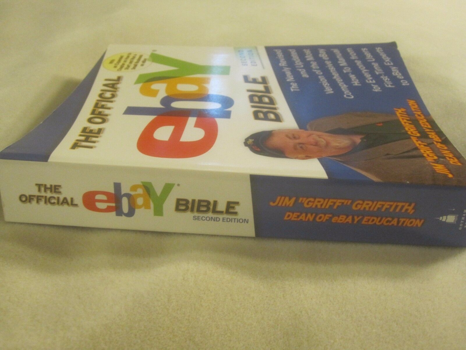 The Official Ebay Bible by Jim Griff Griffith (2005, Paperback, Revised) |  eBay