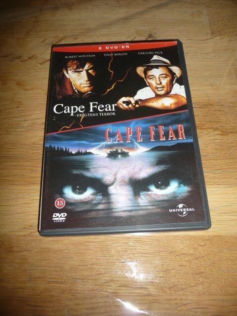 Cape fear , DVD, thriller