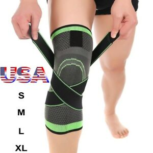Knee-Sleeve-Compression-Brace-Patella-Support-Stabilizer-Sports-Gym-Joint-Pain