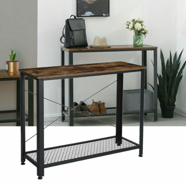 Marvelous Console Table Vintage Accent Stand Sofa Side Entryway Hall Display Storage Shelf Caraccident5 Cool Chair Designs And Ideas Caraccident5Info