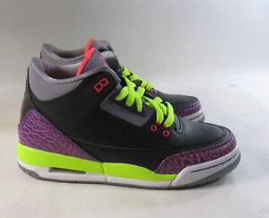 Image is loading Nike-Girls-Air-Jordan-3-Retro-Gs-Iii-