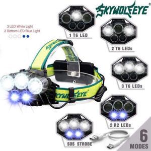 Rechargeable-90000LM-T6-LED-Headlamp-Light-Flashlight-Head-Torch-Headlight