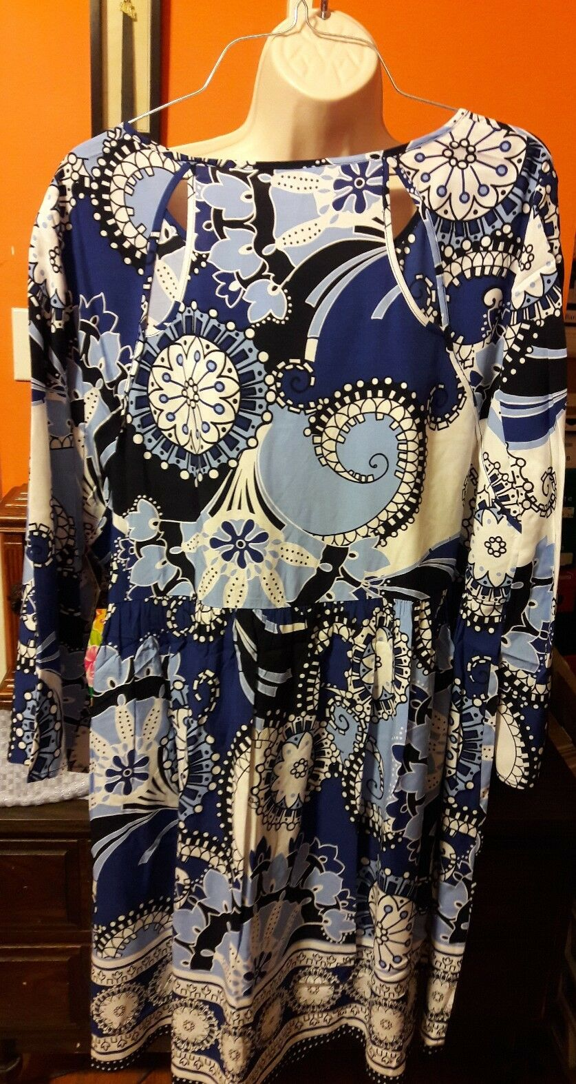 Crown & & & Ivy Ladies Print Dress Size XL 0b20fa