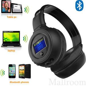 3 0 st r o bluetooth usb sans fil casque d 39 couteurs casque audio appel. Black Bedroom Furniture Sets. Home Design Ideas