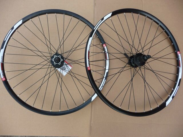 "9 10 Speed Wheels 26/"" 27.5/"" 29/"" MTB Mach 1 NEO Disc Rim Shimano Deore Hubs 8"