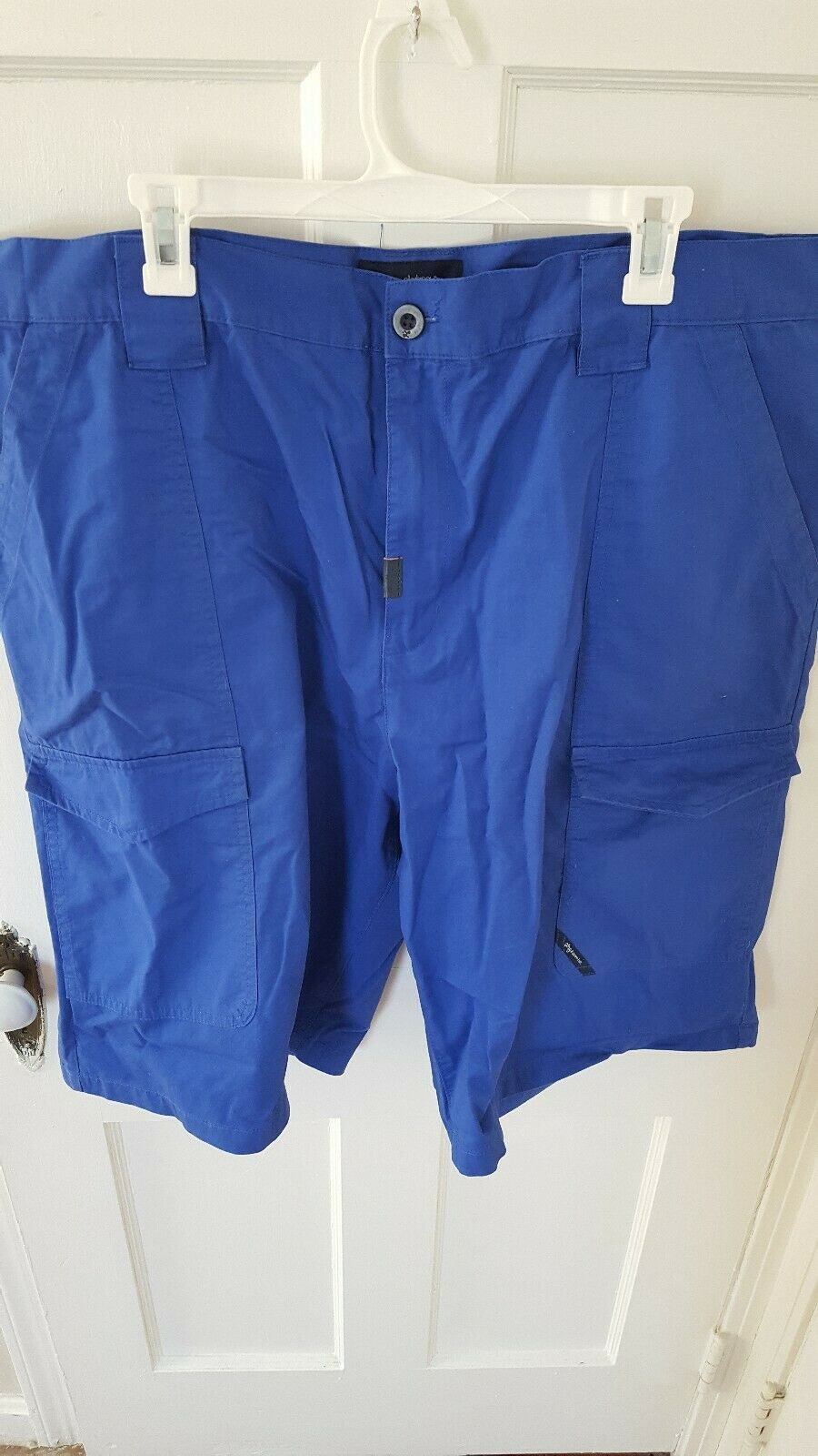 LRG Lifted Research Group Men Cargo Shorts - bluee Royal bluee Classic Fit sz 42