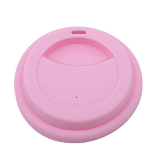 Anti-Dust Cup Lid Cover Leakproof Silicone Tea Coffee Sealing Lid Cap S