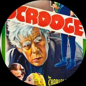 Scrooge-1935-Classic-Retelling-of-A-Christmas-Carol-DVD-Free-Postage-DISC-ONLY