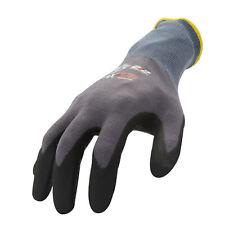 212 Performance Ax360 Dotted Grip Nitrile Work Glove 12 Pair Bulk Pack Axdg 16