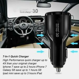 36W-Qualcomm-QC3-0-Certified-Quick-Charge-Dual-USB-Port-Fast-Car-Lighter-Ch-V4E6