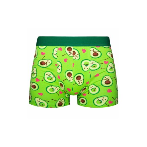 Good Mood Mens Avocado Adult Food Fitted Trunks