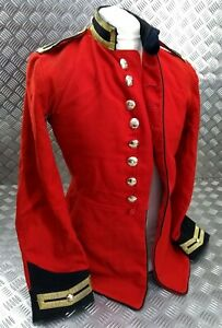 Genuine-British-Army-Issue-Life-Guards-Trooper-Red-H-Cav-Tunic-Faulty-EBYT331
