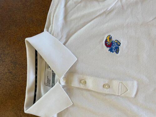 Cutter and buck Kansas University Jayhawks white … - image 1