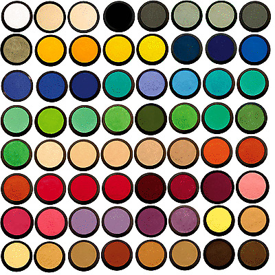 Eulenspiegel Schminke Profi Aqua Schminkfarbe Set mit 6 Farben
