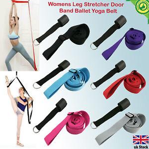 Set Leg Stretcher Strap Dance Yoga Gymnastic Belt Door Flexibility Stretch