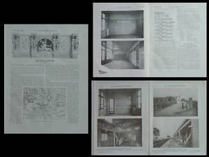 Amical La Construction Moderne - N°8 - 1909 - Paris, Cite Martignac, Francois Le Coeur Divers Styles