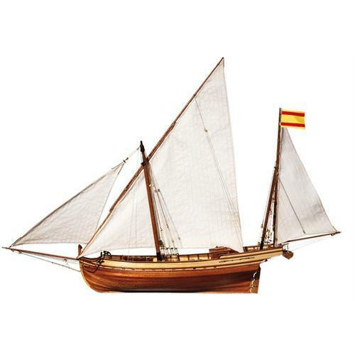 OcCre Felucca San Juan Sail Boat 1 70 Scale Beautifully Detailed Model Kit 12001