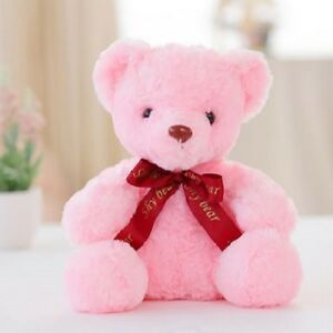 Image is loading PINK-LED-TEDDY-BEAR-VALENTINE-GIFT-CHRISTMAS-GIFT-