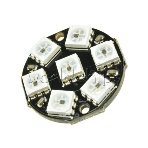 7-Bit WS2812 5050 RGB LED Round LED Stable Board for Arduino