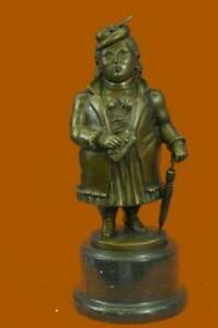 Stoic-Abstract-Woman-by-Botero-Bronze-Sculpture-Made-by-Lost-Wax-Method-Hot-Cast
