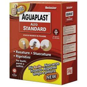 Beissier aguaplast alto standard stucco bianco in polvere stucca livella 1 / 5Kg