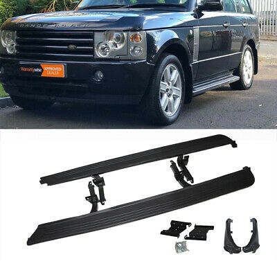 OE Style Rear Mud Flaps Accessory Pair Dirt Protection for Range Rover 2002-2012