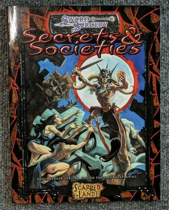 Secrets and Societies by Sword and Sorcery Studios Staff (2002, Paperback)
