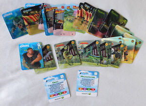 Details about Woolworths Dreamworks Heroes Lenticular Cards - 33 Card Lot