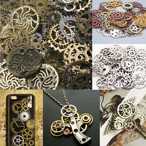 100g watch parts steampunk jewellery art craft cyberpunk for Steampunk arts and crafts