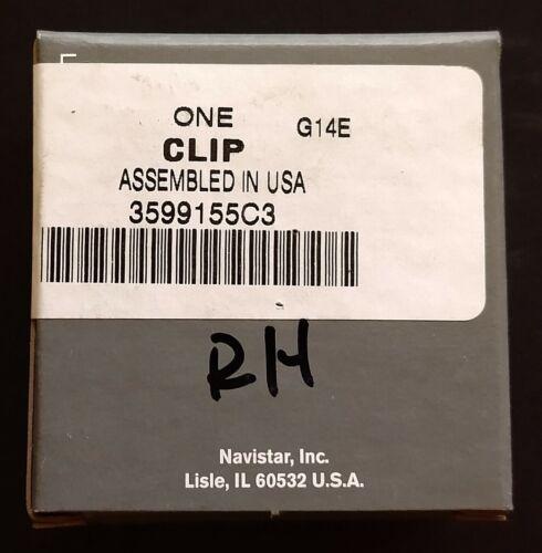 3599155C3 OEM INTERNATIONAL VISOR CLIP RH Passenger ProStar Grey