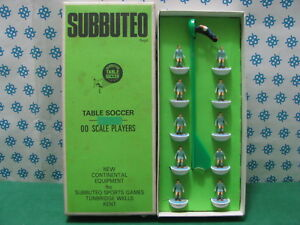 Subbuteo Hw Réf. 5 - Équipe Manchester City Angleterre 70 'Mib